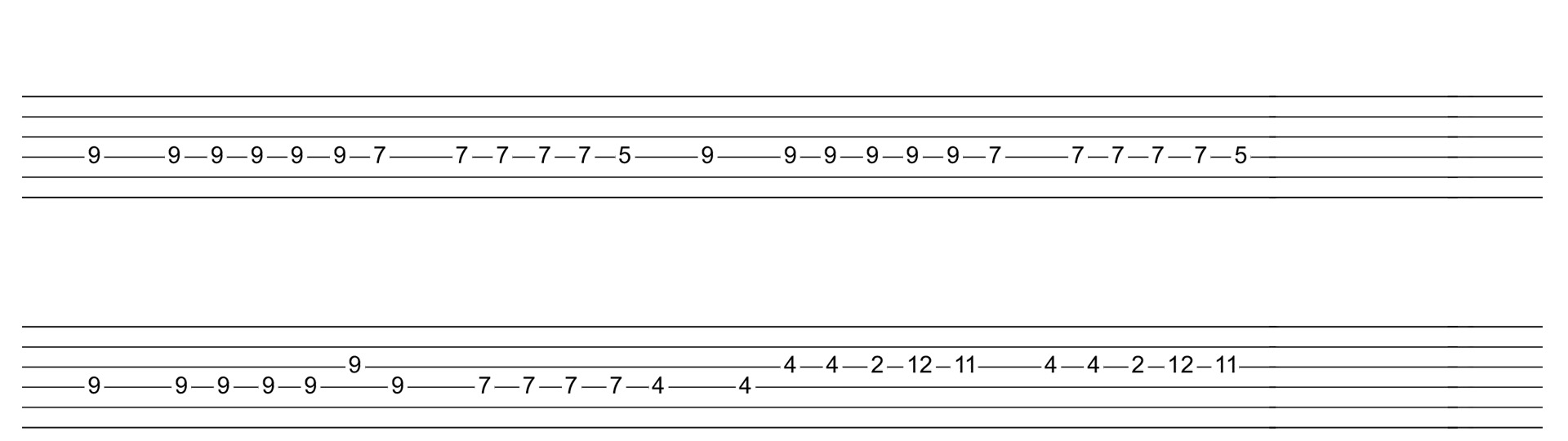Guitar chords to imagine